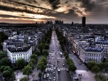 City Aerial View Paris France
