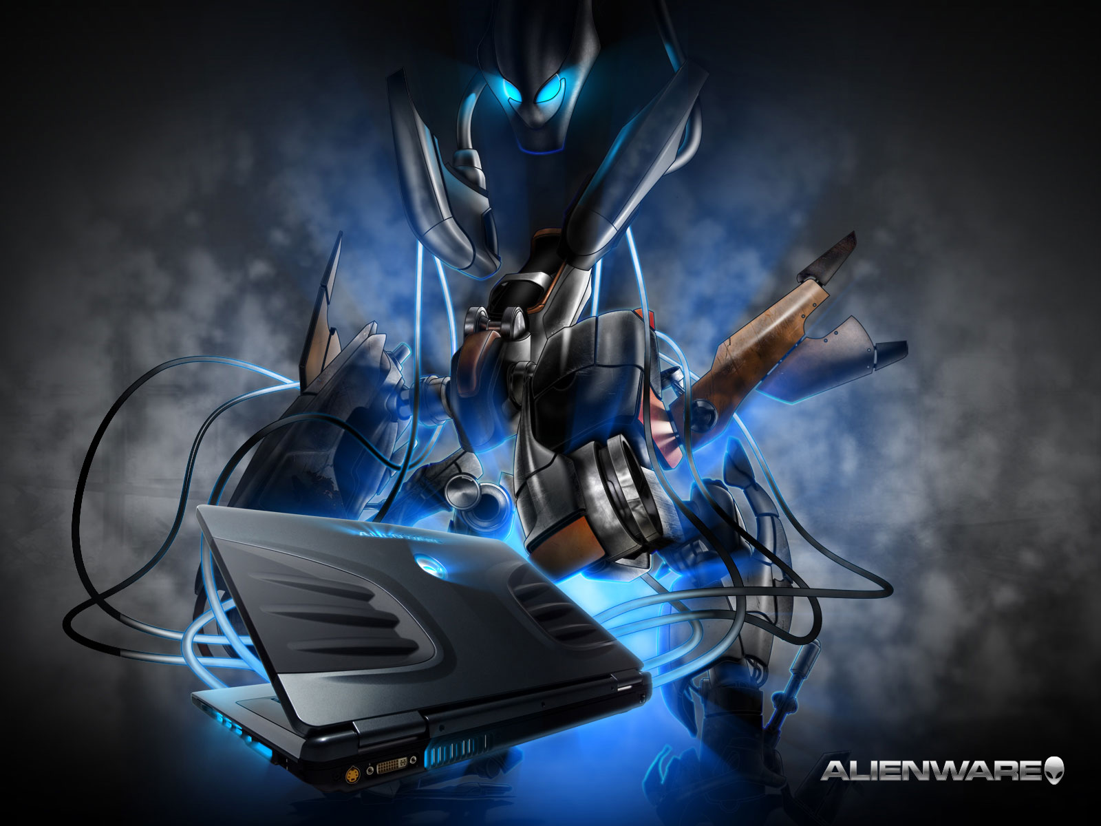 Free Alienware Laptop Wallpaper Wallpaper